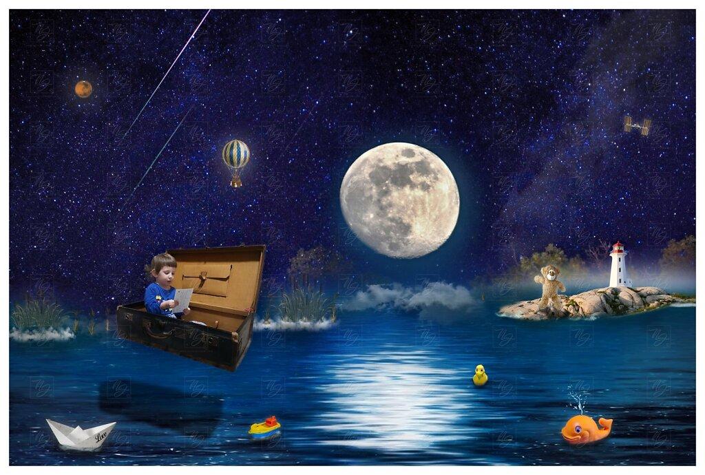 Ondřej a měsíc - v zemi snů- new